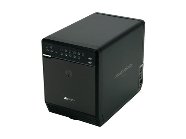 Mediasonic HFR2-S3B PRORAID Box 4 Bay Raid Enclosure with USB 2.0, eSATA & FireWire 400/800