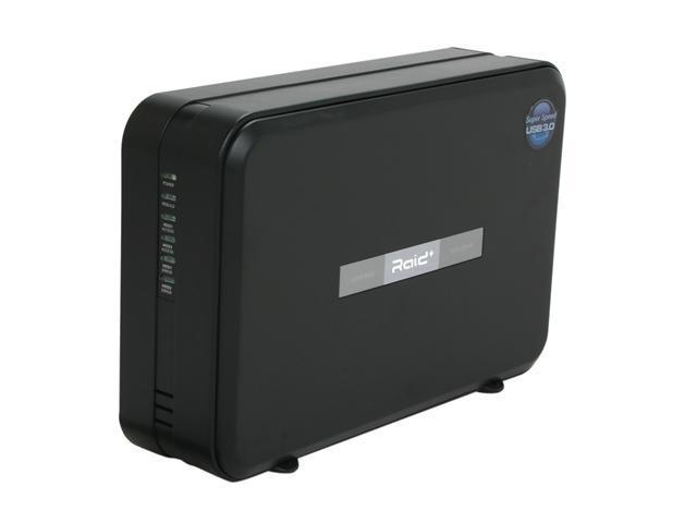 "Mediasonic HUR1-SU3S2 2-Bay RAID 0/1/Single 3.5"" SATA HDD Enclosure"