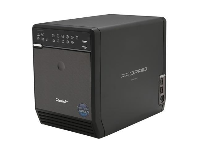 Mediasonic HFR2-SU3S2FW ProRaid 4 Bay HDD Enclosure - USB 3.0 / eSATA / Firewire