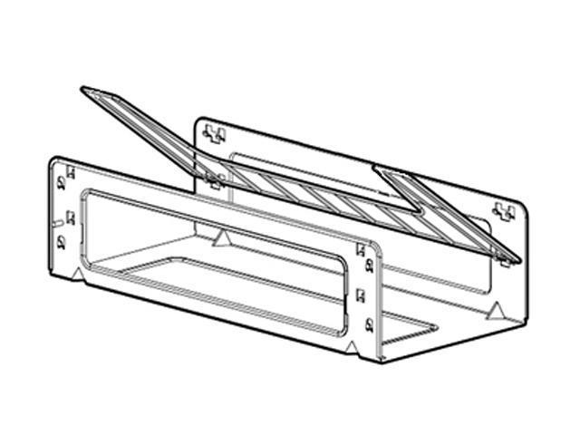 HP 383982-B21 Rack Top Cable Tray 600mm wide Package of 8 trays
