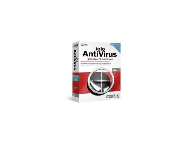 iolo iolo AntiVirus - Up to 3 PCs