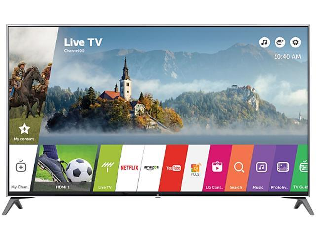 LG 65UJ7700 65-Inch 4K UHD Smart LED TV with HDR (2017)