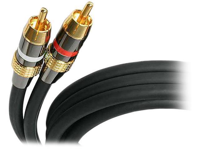 StarTech.com 50 ft Premium Stereo Audio Cable RCA - M/M