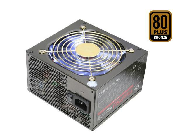 SAPPHIRE PSU625SR 625W ATX12V Ver.2.3 SLI Ready CrossFire Ready 80 PLUS BRONZE Certified Modular Active PFC Power Supply