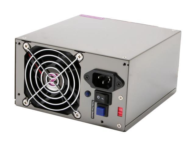 TOPOWER ZU-650W 650W ATX12V Version 2.0 / EPS12V SLI Certified CrossFire Certified Power Supply
