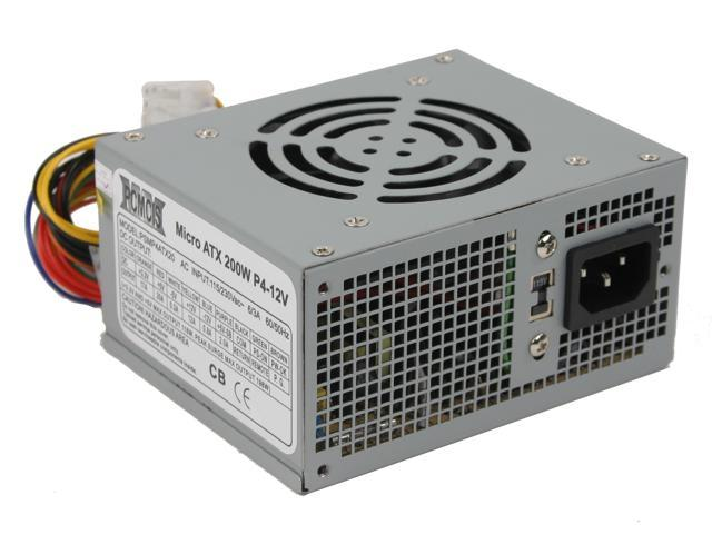 PCMCIS PCM-MP4ATX20 200W Micro ATX Power Supply