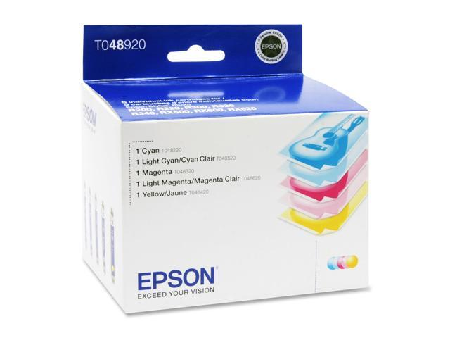 EPSON T048920 Cartridge For Stylus Photo RX500, RX600, RX620 5 Colors