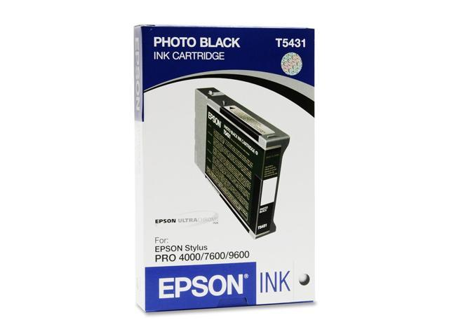 EPSON T543100 110 ml UltraChrome Ink Cartridge Photo Black