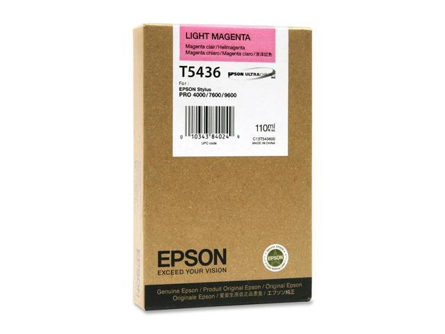 EPSON T543600 110 ml UltraChrome Ink Cartridge Light Magenta
