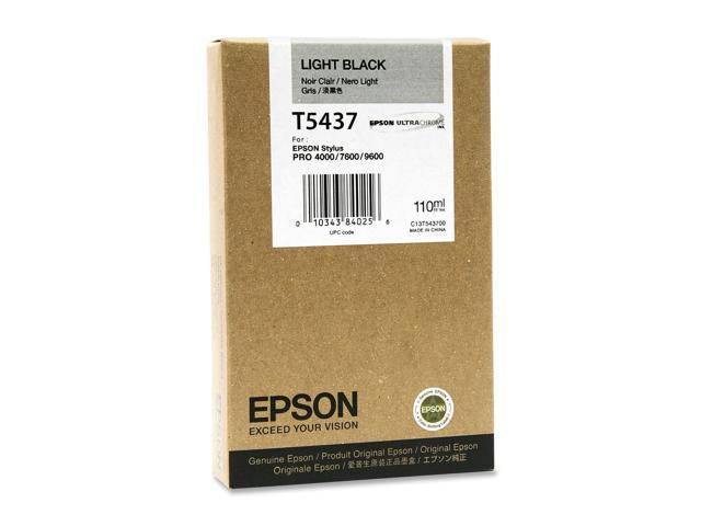 EPSON T543700 110 ml UltraChrome Ink Cartridge Light Black