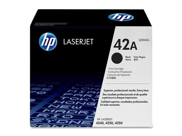 HP Q5942A Print Cartridge with Smart Printing Technology Black