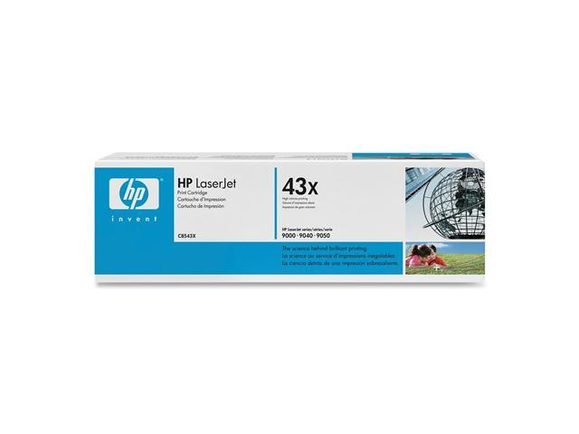 HP C8543X Print Cartridge with Smart Printing Technology Black
