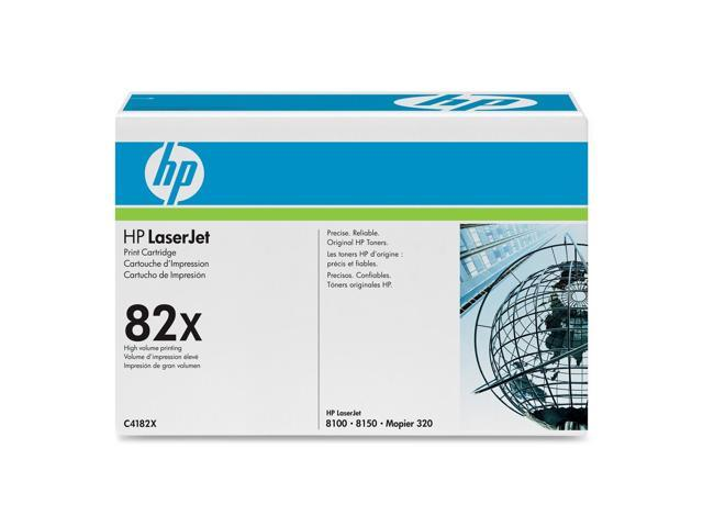 HP C4182X Print Cartridge with Ultraprecise Toner Black