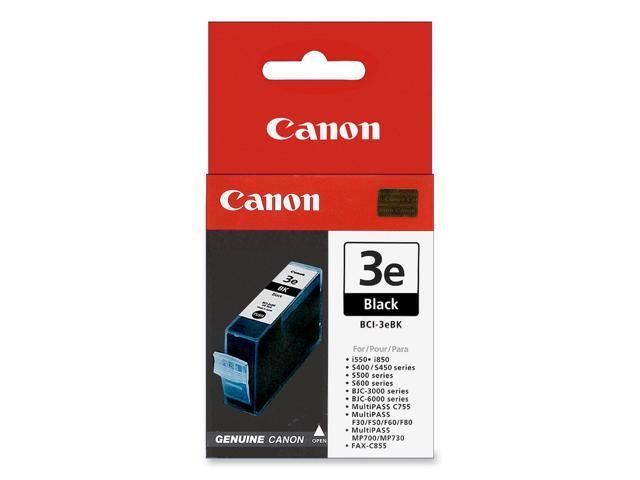Canon BCI-3eBK Ink Cartridge Black