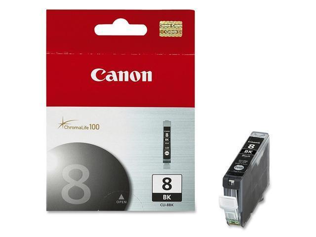Canon CLI 8Bk (0620B002) Cartridge For PIXMA iP4200, PIXMA iP5200, PIXMA MP500 Black