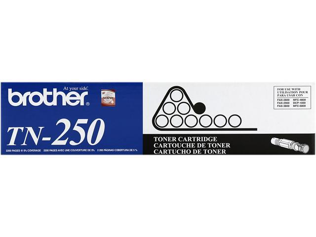 Brother TN250 Toner Cartridge - Black