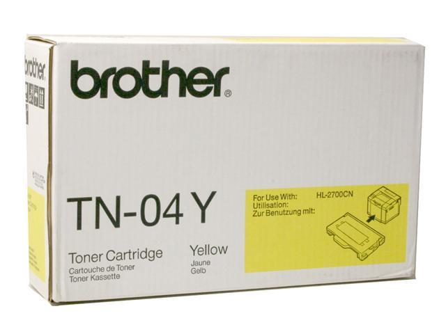 brother TN04Y Toner Cartridge Yellow