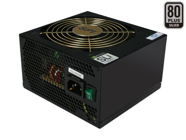 SPARKLE 85+ Green 700 R-SPI700ACH5B 700W ATX12V v2.2 / EPS12V v2.91 SLI Ready CrossFire Ready 80 PLUS SILVER Certified Active PFC Power Supply