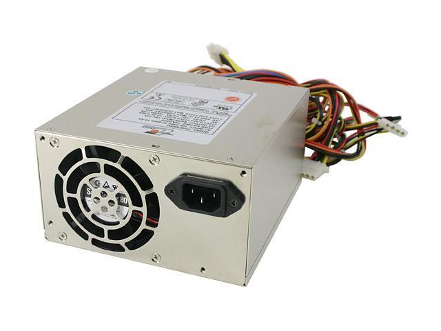 ZIPPY PSM-6600P-SATA 600W ATX 2.03,ATX12V(P4),EPS12V,WTX,AMD-GES Active PFC Power Supply