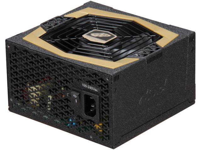 FSP Group AURUM GOLD 500W (AU-500) ATX12V /EPS 12V 80PLUS GOLD Certified Power Supply  with Intel Haswell Ready