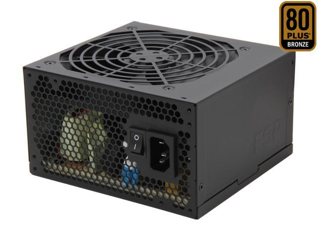 FSP Group RAIDER 550W (RAIDER 550) ATX12V2.92 80PLUS BRONZE Certified +12V Single rail Power Supply compatible with Intel Haswell Certified