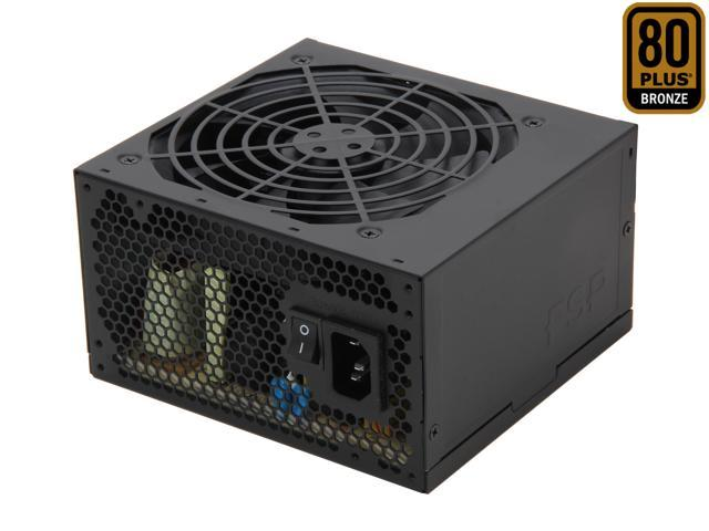 FSP Group RAIDER 650W (RAIDER 650) ATX12V2.92 SLI Certified 80PLUS BRONZE Certified +12V Single rail Power Supply compatible with Intel Haswell Certified
