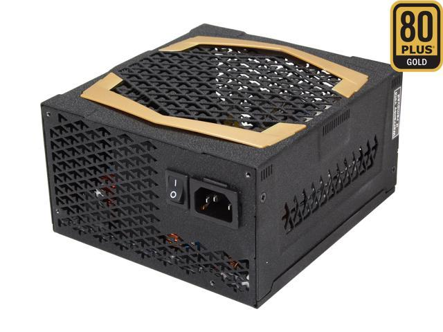 FSP Group AURUM XILENSER 500W AU-500FLD ATX12 v2.92 SLI Ready CrossFire Ready 80 PLUS GOLD Certified Active PFC Fanless Power Supply with Intel Hawell Ready