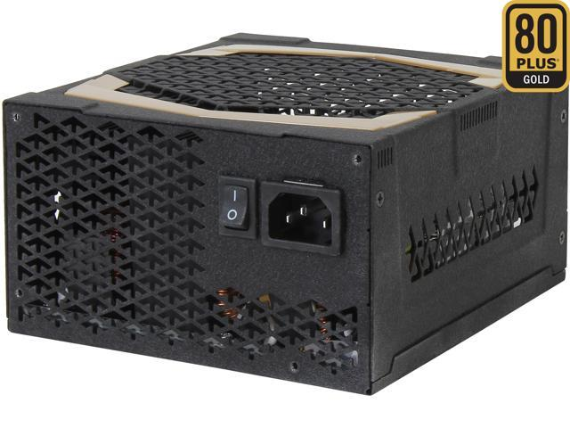FSP Group AU-500FL 500W ATX 2.3 80 PLUS GOLD Certified Modular Active PFC Power Supply with Intel Haswell Ready