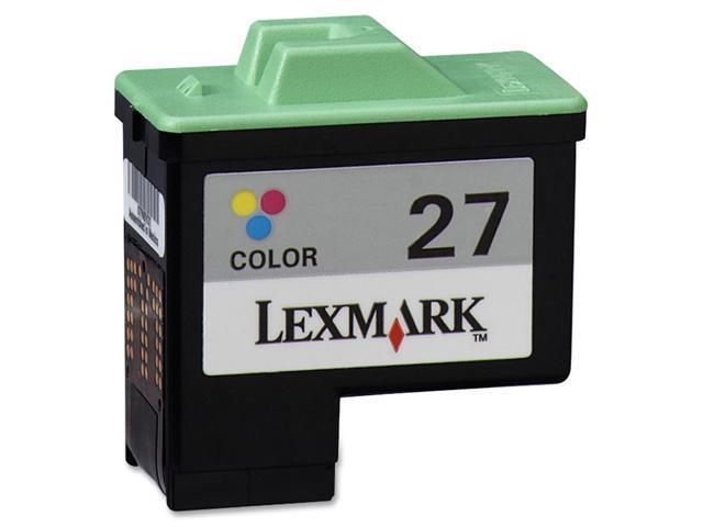 LEXMARK 10N0227 Inkjet Print Cartridge Yellow, cyan and magenta
