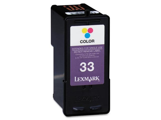 LEXMARK #33/ 18C0033 Cartridge Color