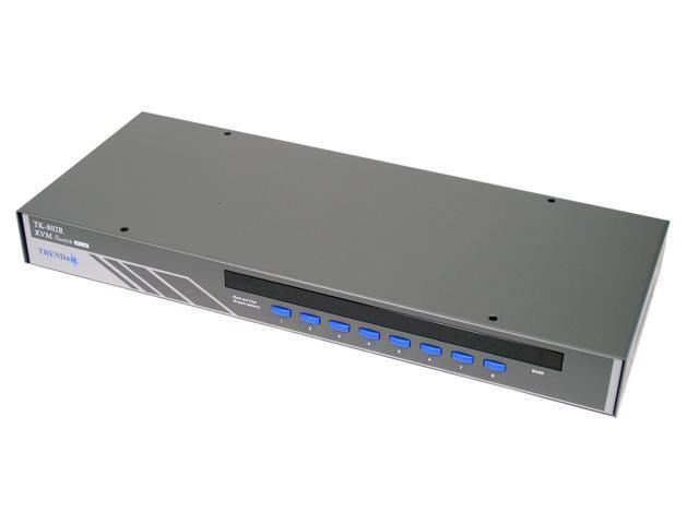 TRENDnet TK-802R 8-Port PS/2 Rack Mount KVM Switch w/ OSD