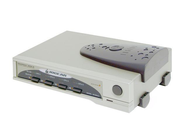 IOGEAR GCS124U 4 Port MiniView II USB KVM Switch