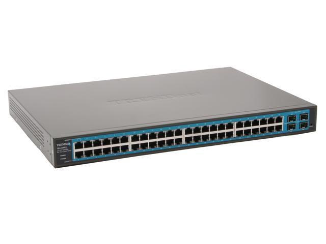 TRENDnet TEG-448WS Smart 48-Port Gigabit Web-Based Smart Switch