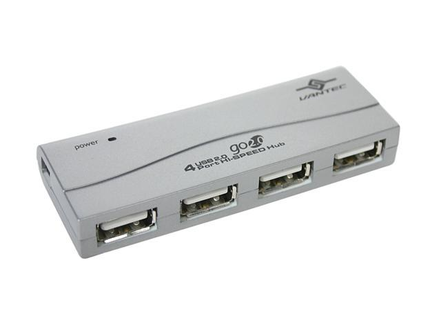 VANTEC UGT-MH304 USB2.0 4 Port HI-SPEED Mini Hub