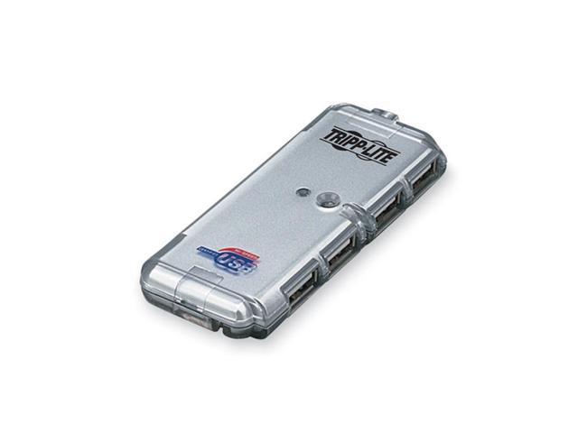 TRIPP.LITE U222-004-R 4-Port USB2.0 Certified Ultra-Mini Hub