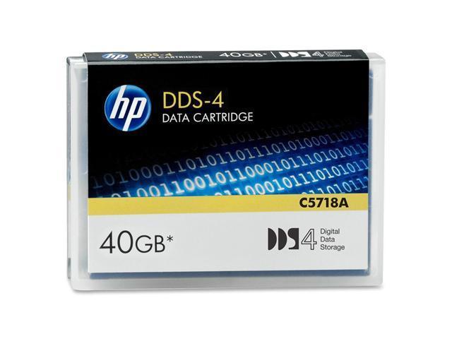 HP C5718A 20/40GB DDS-4 Tape Media 1 Pack