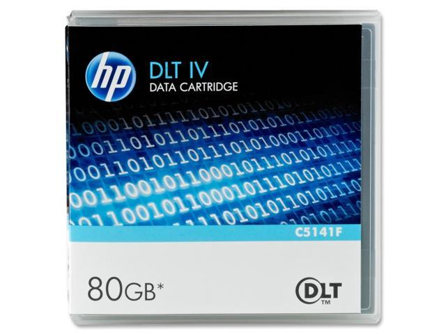 HP C5141F 40/80GB DLTtape IV Tape Media 1 Pack