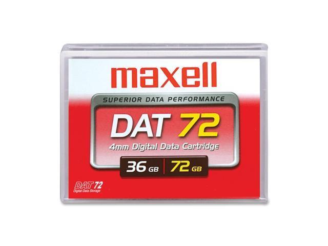 maxell 200200 36/72GB DAT 72 Tape Media 1 Pack