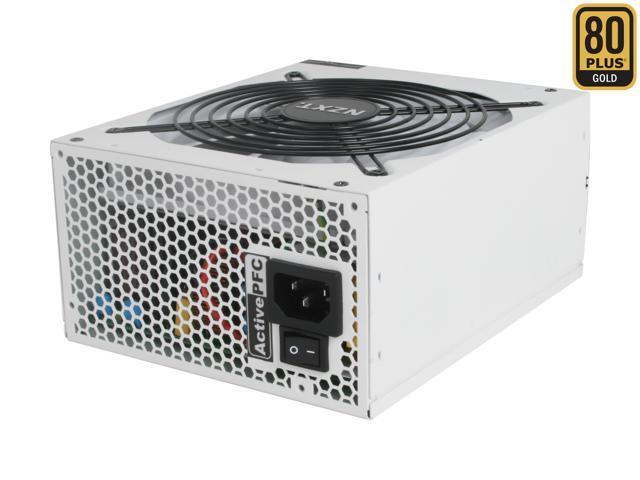 NZXT HALE90-850-M 850W ATX 12V v2.2, EPS 12V v2.91 80 PLUS GOLD Certified Modular Active PFC Power Supply