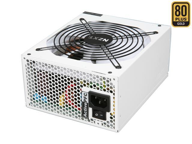 NZXT HALE90-1000-M 1000W ATX 12V v2.2, EPS 12V v2.91 80 PLUS GOLD Certified Modular Active PFC Power Supply