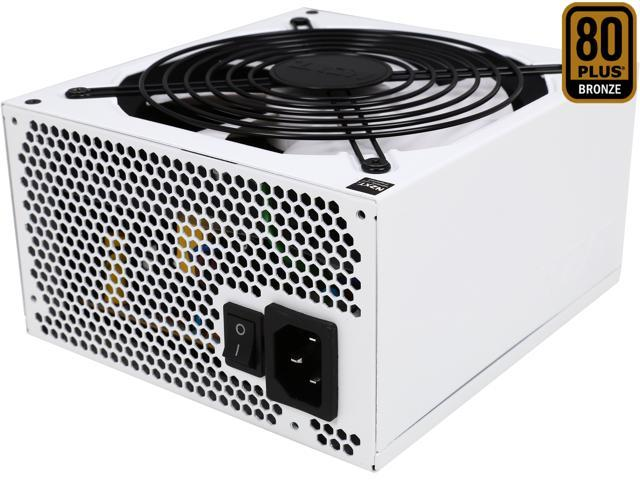 NZXT HALE82 V2 550W White Cable 550W SLI CrossFire 80 PLUS BRONZE Certified Full Modular Power Supply