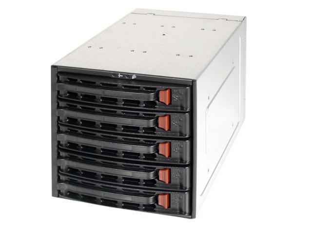 "SUPERMICRO CSE-M35T-1B 3 x 5.25"" to 5 x 3.5"" Hot-swap SATA HDD Trays"