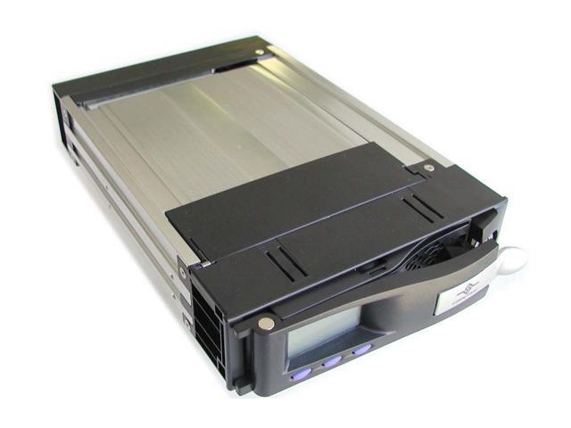 VANTEC MRK-102FD-BK EZ Swap Removeable Hard drive rack with LCD display