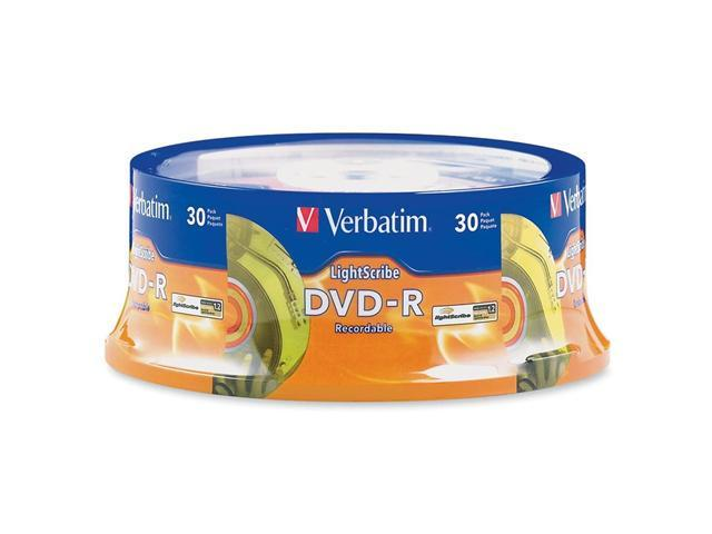 Verbatim 4.7GB 16X DVD-R LightScribe 30 Packs Disc Model 95339
