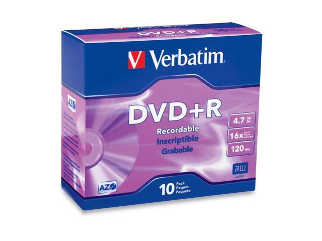 Verbatim 4.7GB 16X 10 Packs Disc Model 95097