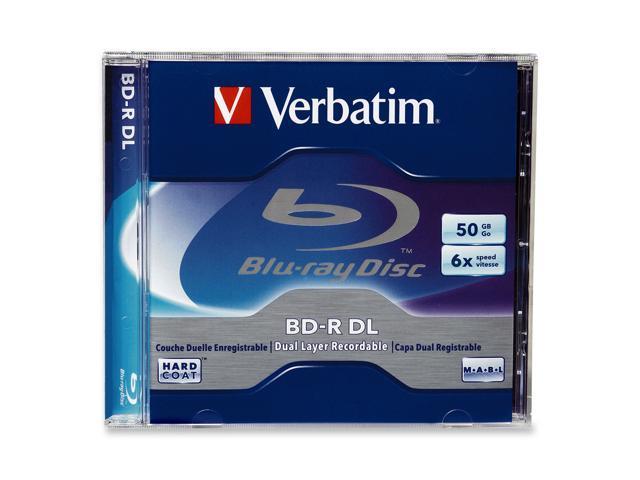 Verbatim 50GB 6X BD-R DL Single Disc Model 96911