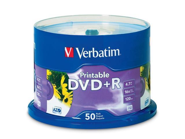Verbatim 16x DVD+R Media