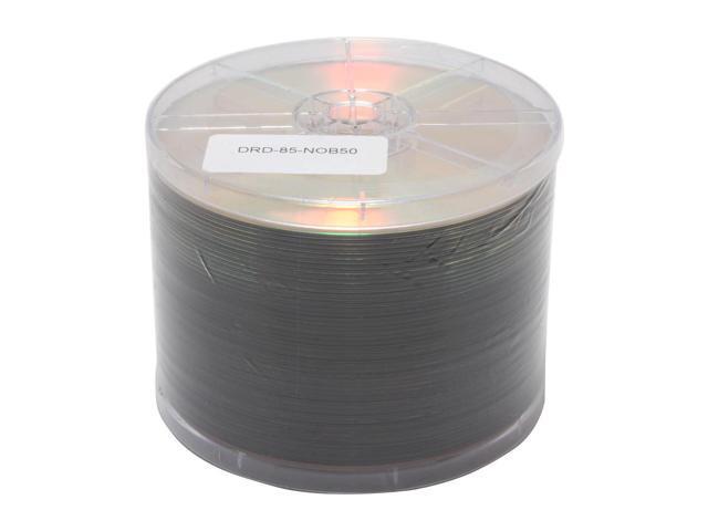 RiDATA 8.5GB 4X DVD-R DL 50 Packs Shiny Top Dual layer Disc Model DRD-85-NOB50