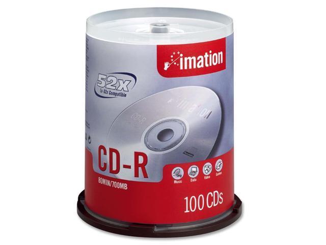 imation 700MB 52X CD-R 100 Packs Disc Model 17262