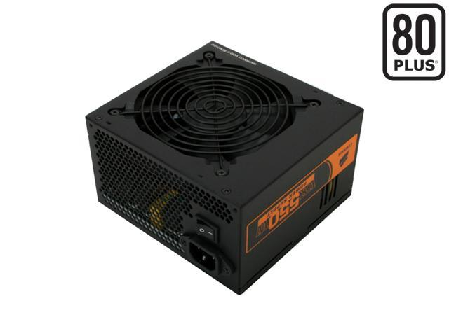 CORSAIR Enthusiast Series CMPSU-550VX 550W ATX12V V2.2 SLI Ready CrossFire Ready 80 PLUS Certified Active PFC Compatible with Core i7 Power Supply